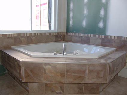 Installing The Tiles In Our Ceramic Tile Shower
