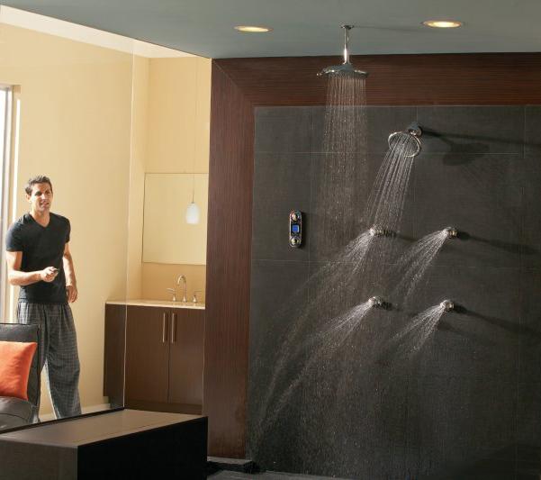 the shower jets shower