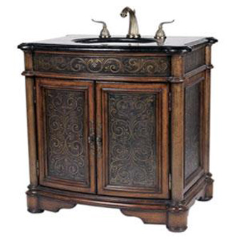 Contemporary Bathroom Vanities on New  Antique Vanities To The Rescue Of The Vintage Style Bathroom