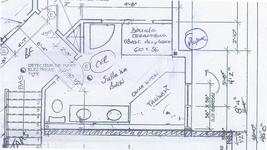 New Bathroom's Plans Enchanting Bathroom Design Drawings