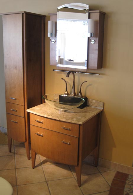 Powder room vanities for Powder bathroom vanities